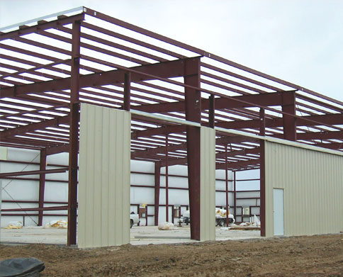 Metal buildings design construct pre engineered for Pre engineered house plans